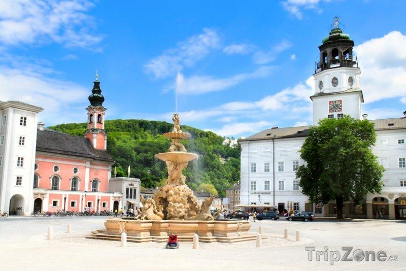 Fotka, Foto Fontána Residenzbrunnen (Salcburk, Rakousko)