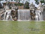 Fontána v parku Valentino