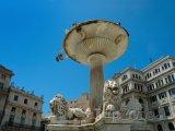 Fontána ve staré části města