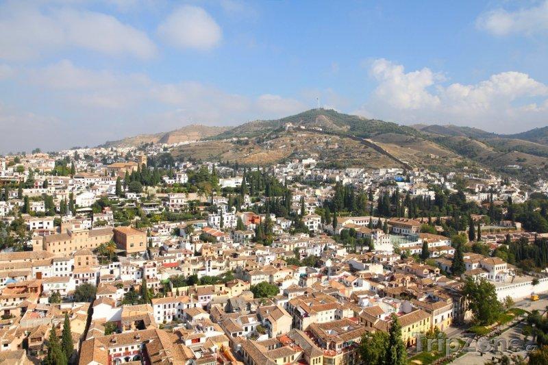Fotka, Foto Hlavní město Andalusie Granada (Španělsko)