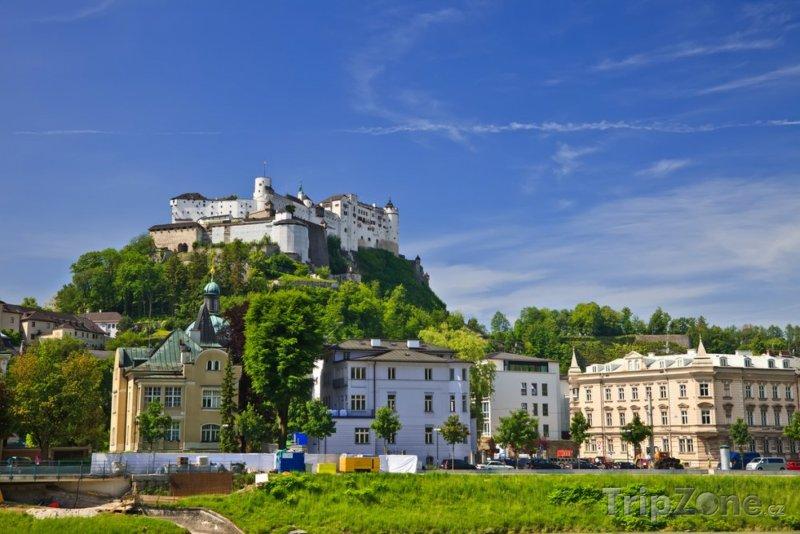 Fotka, Foto Hohensalcburská pevnost nad městem (Salcburk, Rakousko)