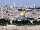 Jeruzalém - pohled na město