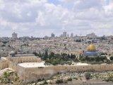 Jeruzalém - pohled na Staré město