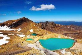 Jezera v Národním parku Tongariro