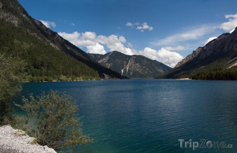 Fotka, Foto Jezero Plansee v Tyrolsku (Rakousko)
