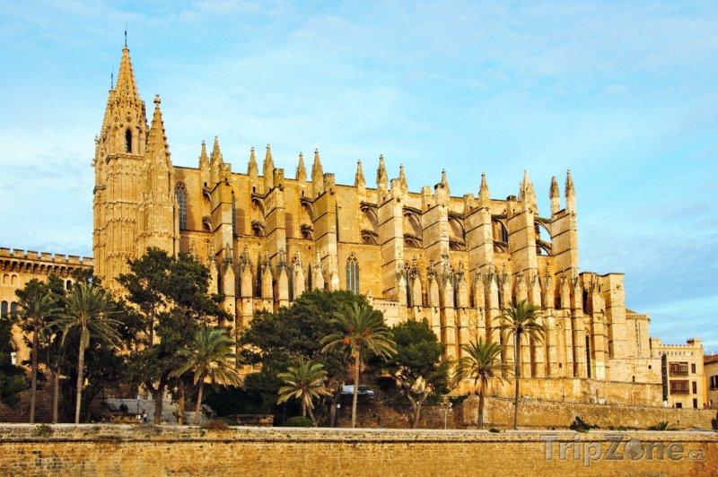 Fotka, Foto Katedrála La Seu (Palma de Mallorca, Španělsko)