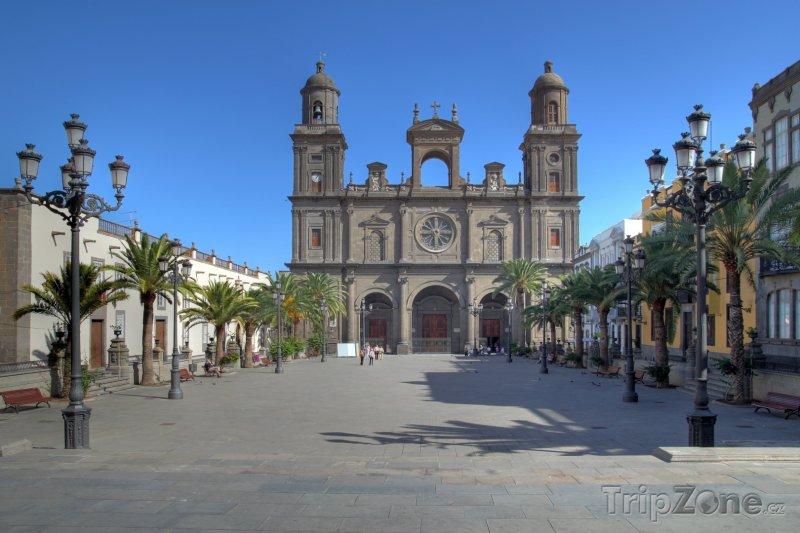 Fotka, Foto Katedrála Santa Ana v Las Palmas (Kanárské ostrovy, Španělsko)
