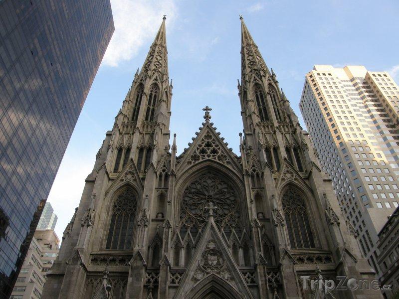Fotka, Foto Katedrála sv. Patrika v New Yorku (New York, USA)