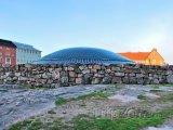 Kopule skalního kostela Temppeliaukio