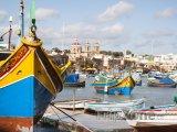 Lodě v přístavu Marsaskala