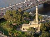 Mešita na břehu Nilu