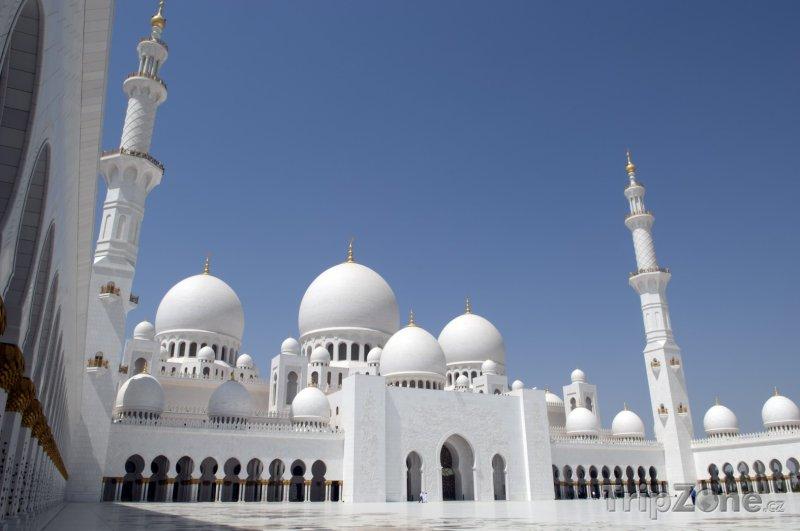 Fotka, Foto Mešita Sheikh Zayed (Abú Dhabí, Spojené arabské emiráty)