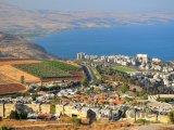 Město Tiberias a Galilejské jezero