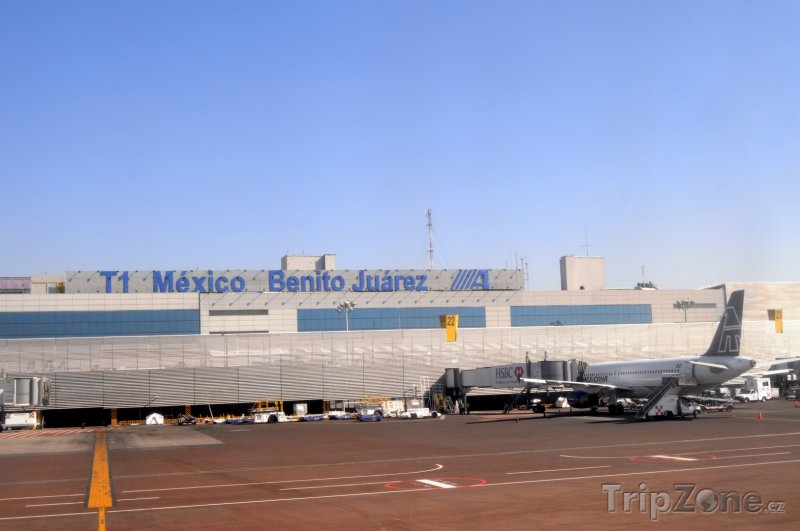 Fotka, Foto Mezinárodní letiště Benito Juárez (Mexico City, Mexiko)