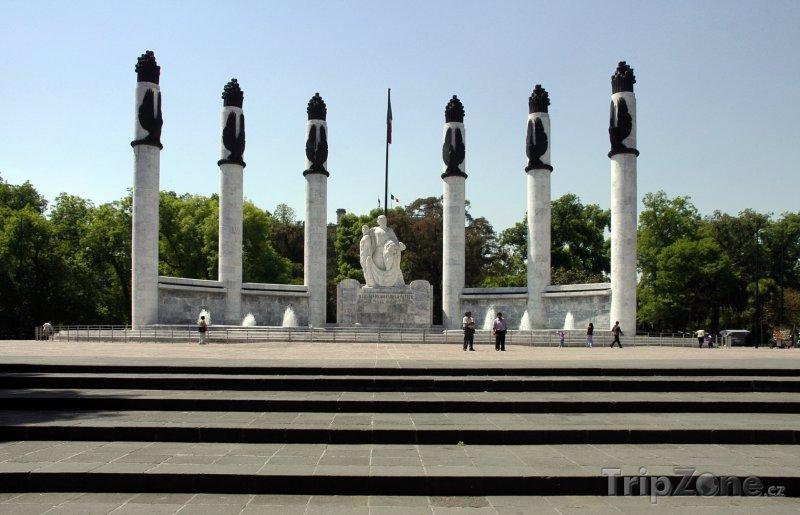 Fotka, Foto Monument vojenských hrdinů (Mexico City, Mexiko)