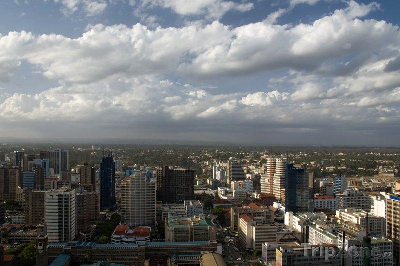 Fotka, Foto Nairobi, pohled na město (Keňa)