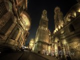 Noční ulice El Moez