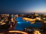 Osvětlený hotelový resort