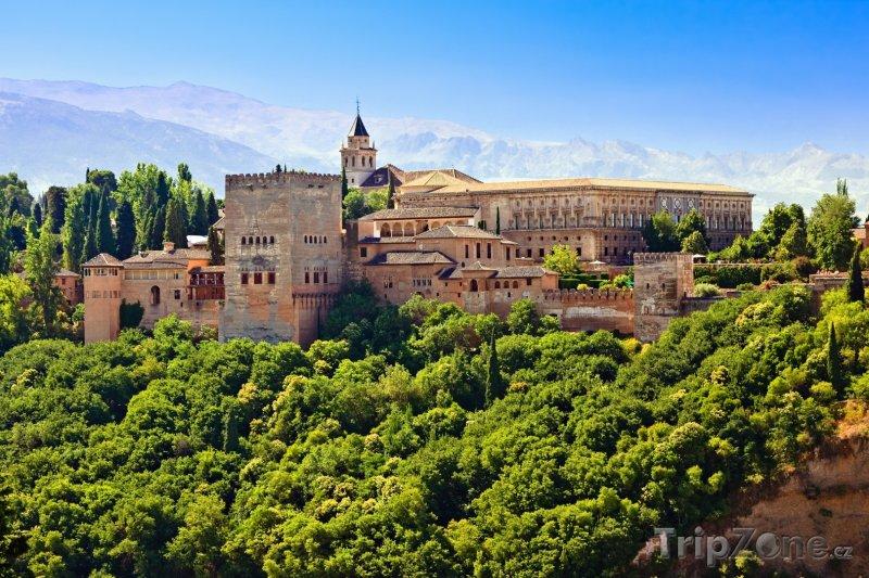 Fotka, Foto Palácový komplex Alhambra (Španělsko)