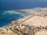 Panoramatický pohled na pobřeží
