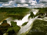 Parana - vodopády Iguazu