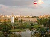 Park na okraji města