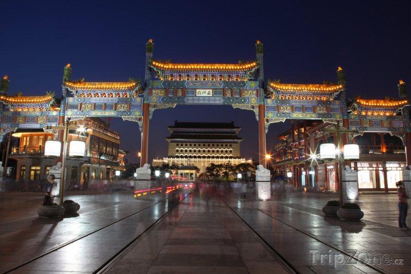 Fotka, Foto Peking - Qianmen Street (Peking, Čína)