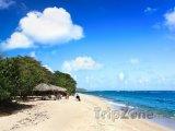 Pláž v provincii Guantánamo na východě Kuby