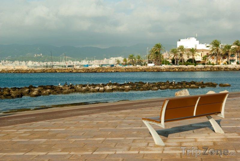 Fotka, Foto Pobřežní promenáda (Palma de Mallorca, Španělsko)