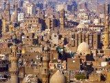 Pohled na káhirské domy