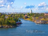 Pohled na pevnost Suomenlinna