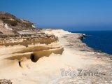 Pohled na pobřeží ostrova Gozo