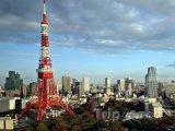 Pohled na Tokijskou věž