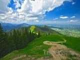 Pohled z vrcholku u Oberammergau