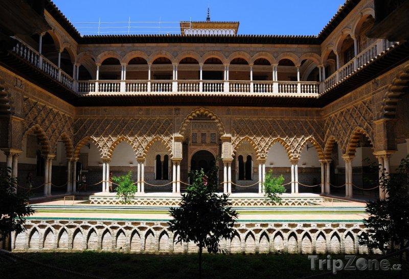 Fotka, Foto Sevilla - Alcazar (Sevilla, Španělsko)