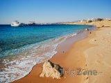 Sharm El Sheikh, lodě u pobřeží