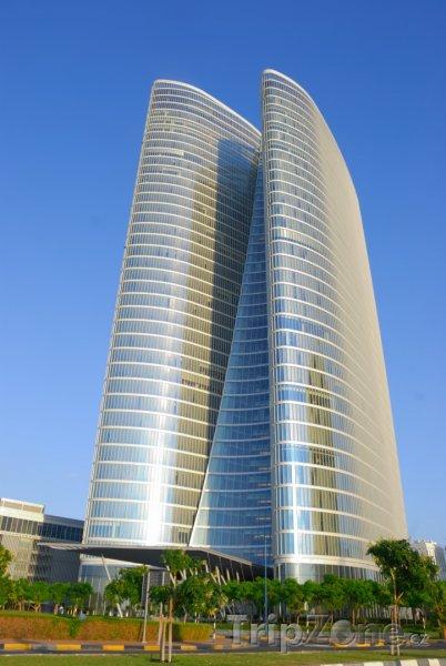 Fotka, Foto Sídlo investičních orgánů (Abú Dhabí, Spojené arabské emiráty)