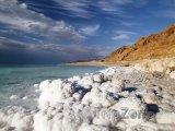Sůl na pobřeží Mrtvého moře