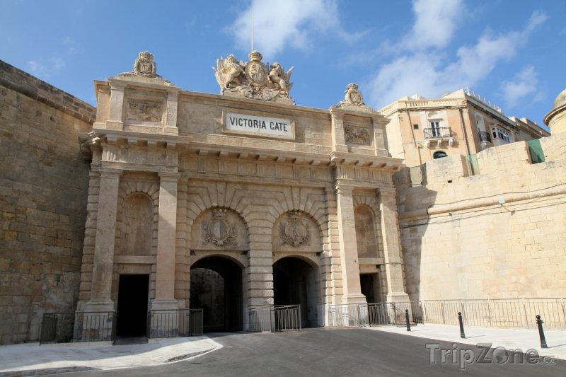 Fotka, Foto Valletta, Victoria Gate, jedna ze vstupních bran do města (Malta)