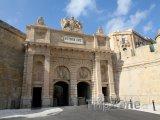 Valletta, Victoria Gate, jedna ze vstupních bran do města