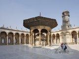 Vnitřek mešity Muhammada Alího