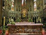 Vnitřek záhřebské katedrály