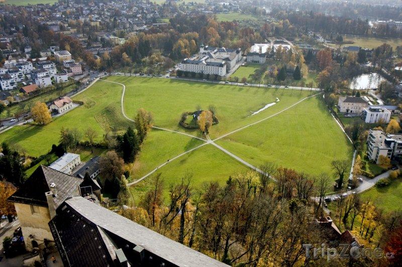 Fotka, Foto Výhled na město z pevnosti (Salcburk, Rakousko)