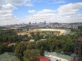 Vzdálený pohled na město