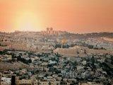 Záře nad městem Jeruzalém