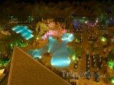 Bazény v hotelovém resortu