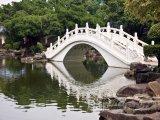 Bílý most ve městě Taipei