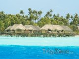 Bungalovy u ostrova Tahaa