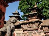 Chrám Nyatapola ve městě Bhaktapur