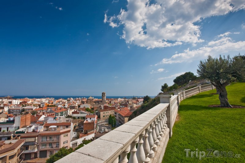 Fotka, Foto Costa del Maresme, pohled na Malgrat de Mar (Španělsko)